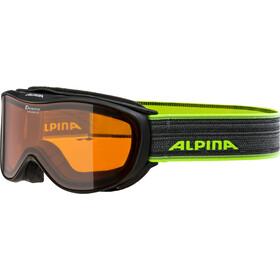 Alpina Challenge 2.0 Doubleflex S2 goggles zwart